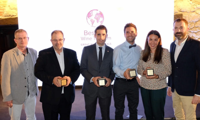 Premios Best Of Wine Tourism Bilbao-Rioja 2019