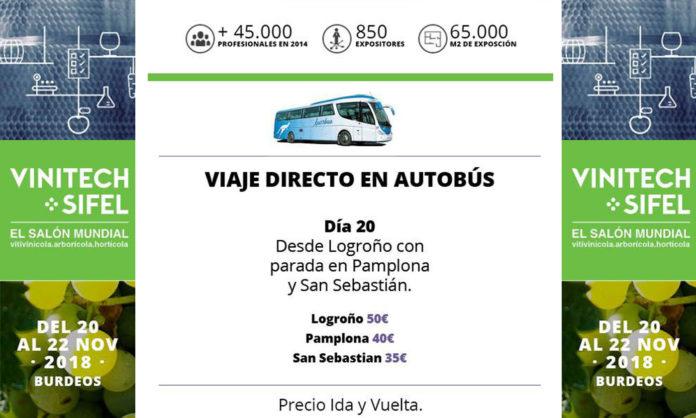 Bus directo a Vinitech