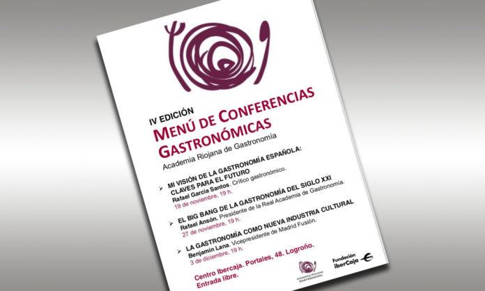 Menú de Conferencias Gastronómicas