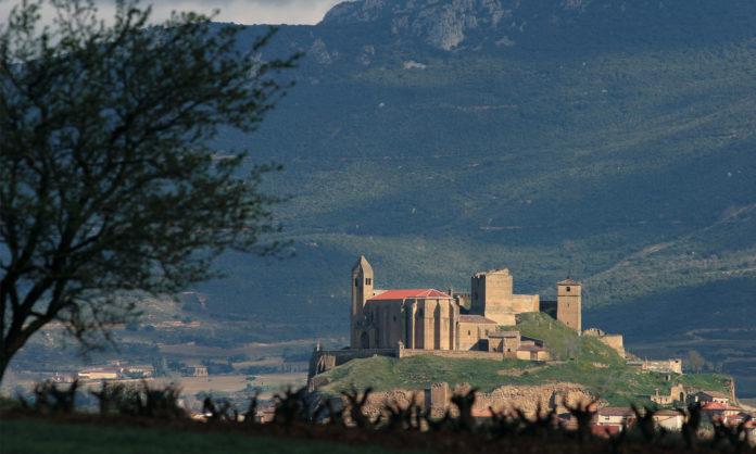 Catas en el castillo de San Vicente de la Sonsierra