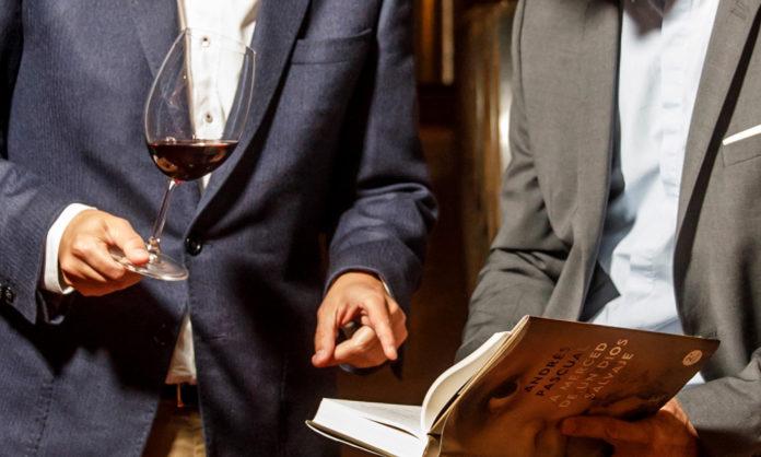 libros y vino