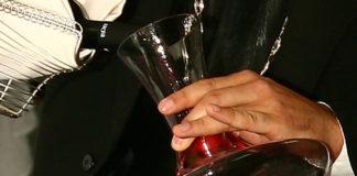 El vino en el restaurante