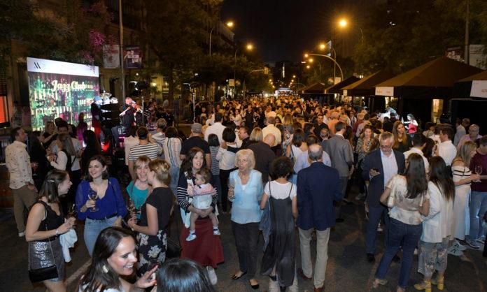 fiesta de la vendimia en Madrid