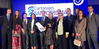 Cartonajes Santorromán Premio a la Empresa Familiar