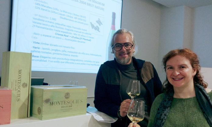 Asociación Cultural de Sumilleres de La Rioja cavas Montesquius