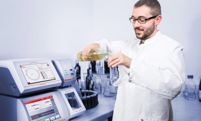 Anton Paar análisis de vino