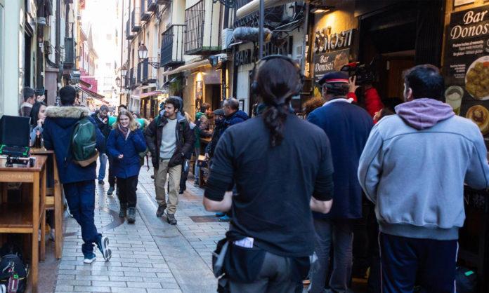 la Calle Laurel de Logroño cierra