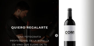 Fotógrafo profesional de vino