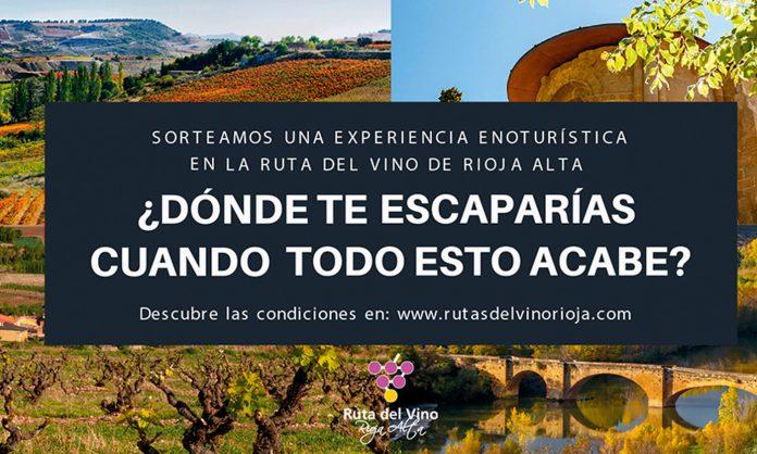 La Ruta del Vino Rioja Alta sorteo