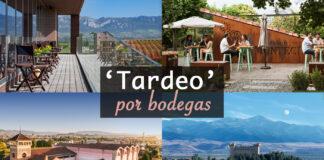 'tardeo' por bodegas de Rioja