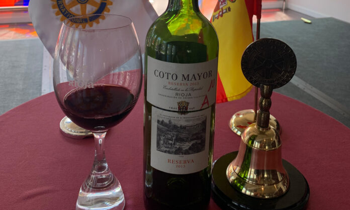 Coto Mayor Reserva 2015 Cata Club Rotario
