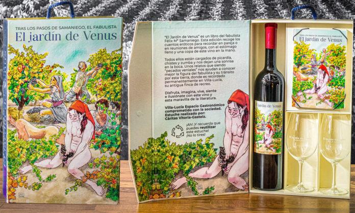 'El jardín de Venus' vino Navidad