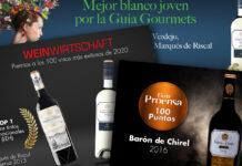 Premios vinos Marqués de Riscal