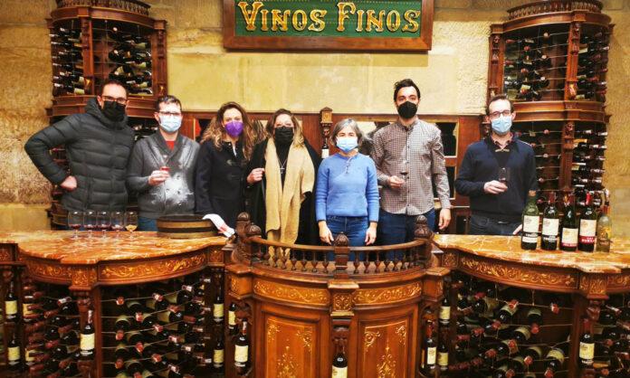 Sumilleres en Bodegas López de Heredia Viña Tondonia